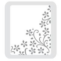 Texture Plates - Elegant Bouquet